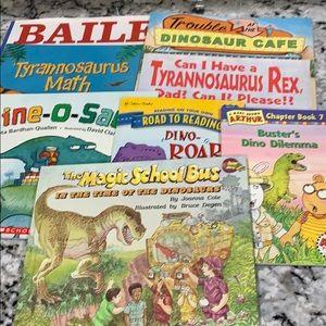 8 Dinosaur Kids Books